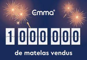 1 million de matelas vendus à travers le monde.🥳 Cela se passe chez Emma matelas et fête l'instant en grande pompe.